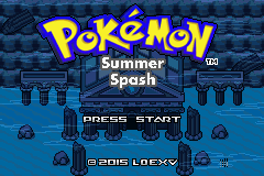 Pokémon Summer Splash 1