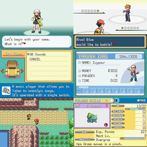 Pokémon Throwback: кадры