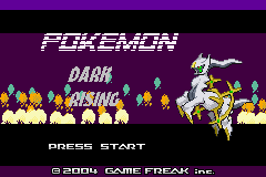 Pokémon Dark Rising 1
