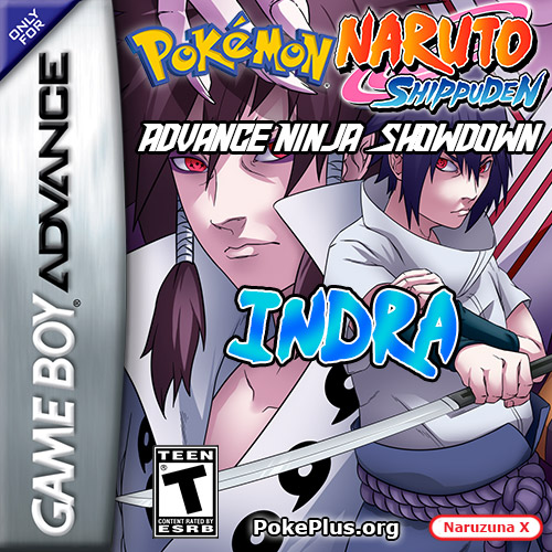 Pokémon Naruto Shippuden Advance Ninja Showdown Indra
